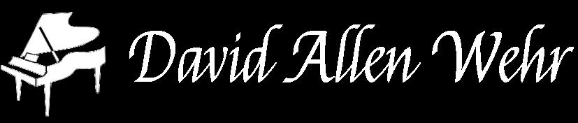 David Allen Wehr Logo